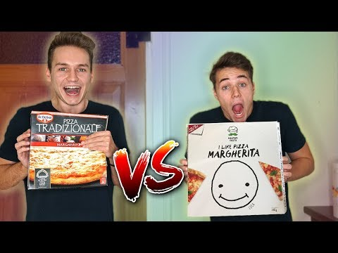LUCA CONCRAFTER PIZZA VS NORMALE PIZZA ��