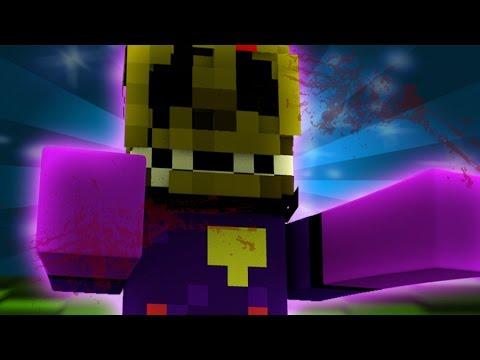 FNAF World UPDATE 2 - PURPLE GUY ADVENTURE! (Minecraft Roleplay) Night 3