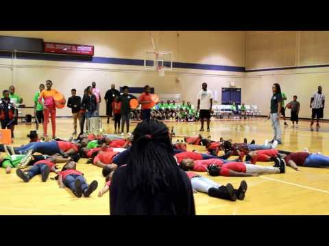 2017-01-27 Eccleston Elementary School - Staff vs. Students Basketball Game
