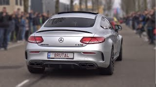 BEST of MERCEDES-AMG SOUNDS! C63 AMG, CLS63, GLE63, AMG GTR