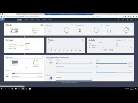 Users' view of IBM Spectrum Protect  & Copy Data Management - Demo