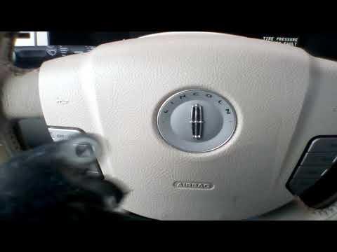 Lincoln Navigator  front left position sensor air suspention error(RUS.)
