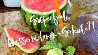 Schale von Wassermelone essbar?