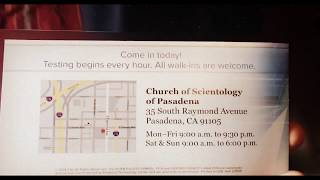 Church of Scientology attempts to recruit new members with free personality tests ! 😵