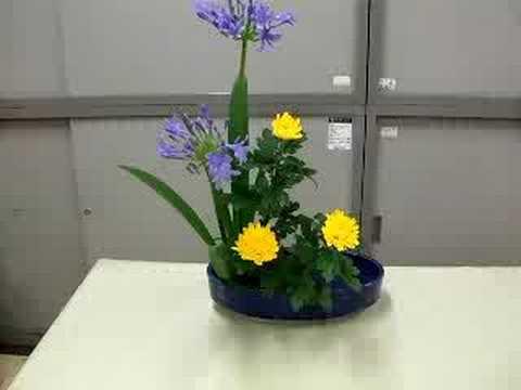 小原流様式の生け花
