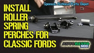 Roller Spring Perches For Classic Ford Mustang Cougar Fairlane Falcon Episode 210 Autorestomod