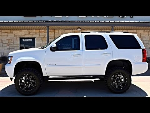 2014 Chevy Tahoe For Sale >> 2008 Lifted Chevrolet Tahoe LS 4WD Rough Country Lift ...