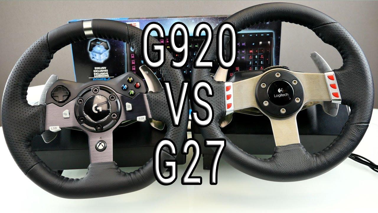 g27 logitech фото