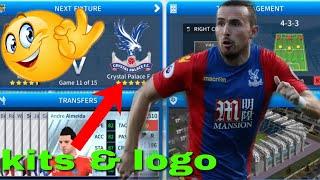 How to create Crystal Palace F.C Team Kits & Logo 2019 | Dream League Soccer 2019