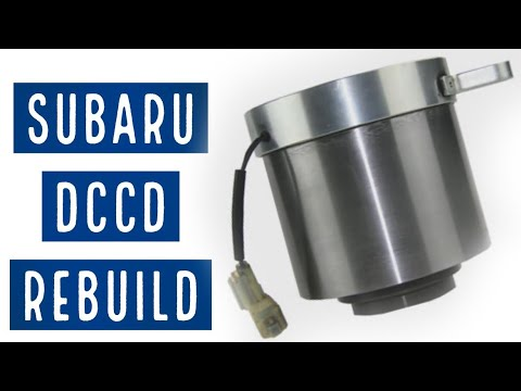 Subaru DCCD Differential Rebuild