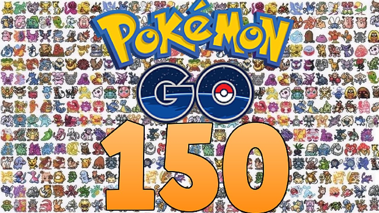 all 150 pokemon in