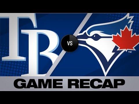 Smoak, Valera Lead Blue Jays Past Rays   Rays-Blue Jays Game Highlights 9/29/19