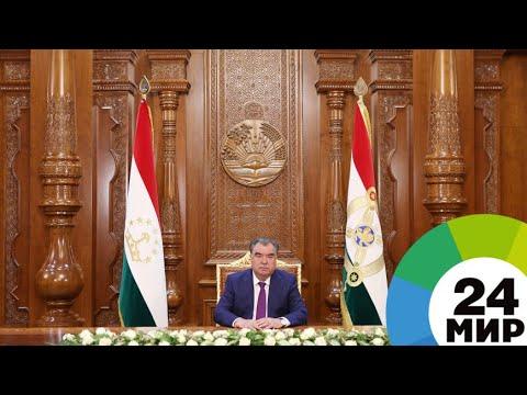 Президент Таджикистана поздравил ветеранов с Победой - МИР 24