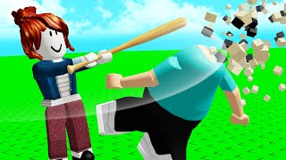 Roblox RAGDOLL FIGHTING..