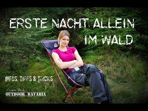 Erste Nacht allein im Wald - Infos,Tricks und wissenswertes für Einsteiger - Vanessa Blank