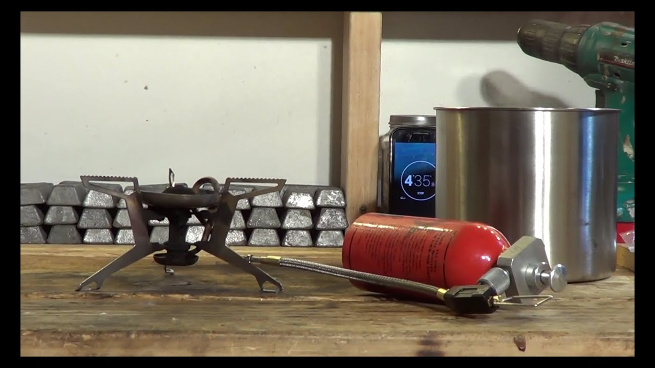 Using a Primus Himalaya Omni Fuel pump with a MSR Whisperlite Universal  stove -