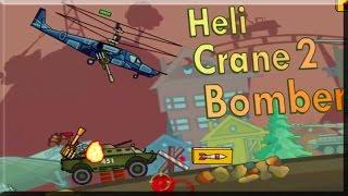 HeliCrane 2 Bomber Full Gameplay Walkthrough