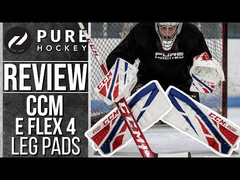 CCM Extreme Flex 4 Pro Goalie Leg Pads | Product Review