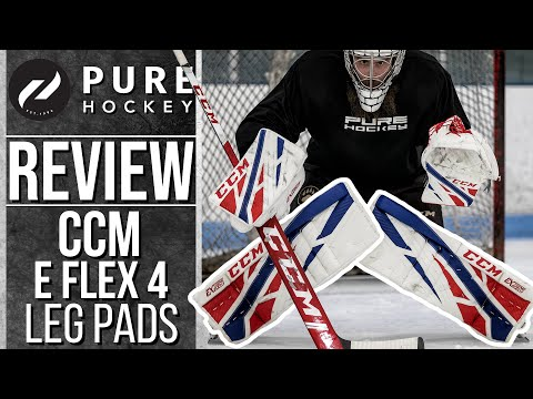 CCM EFlex 4 Goalie Gear Review + Release