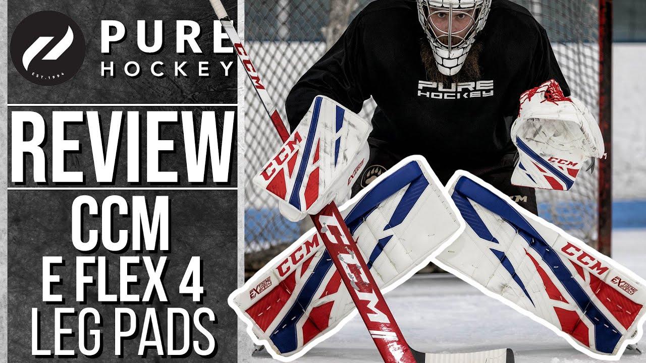 Ccm Extreme Flex 4 Pro Goalie Leg Pads Product Review Youtube