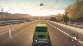 Forza Horizon Fastest Mr Bean Mini Cooper S (143mph)