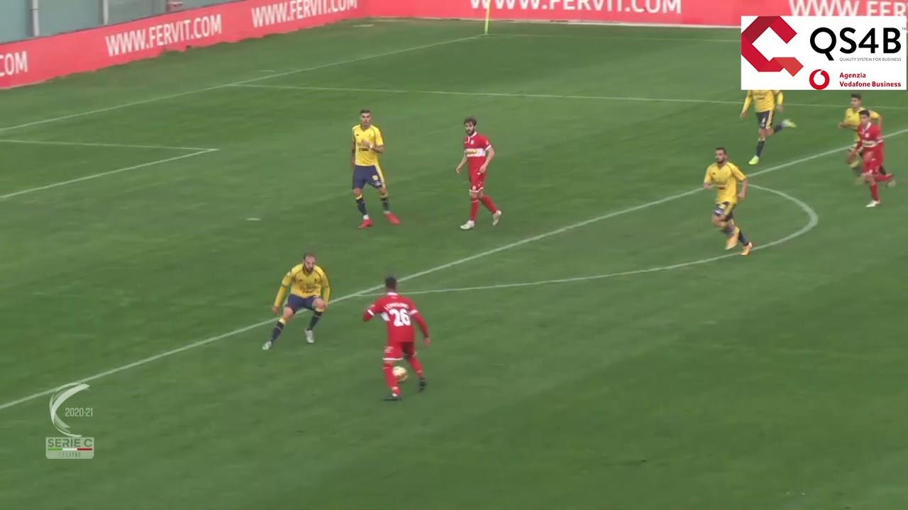 Modena-Carpi 2-1, gli highlights