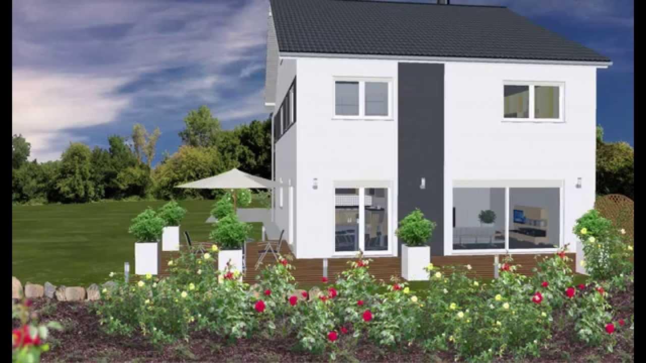 WOLF-HAUS, Doppelhaushälfte, Doppelhaus, Fertighaus, Einfamilienhaus ...