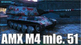 СКИЛЛОВИЧОК НАГИБАЕТ В ПАРИЖЕ 🛑 AMX M4 mle. 51 лучший бой WOT