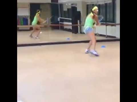 Tennis Fitness Miami with Amina Anshba. Russia Player