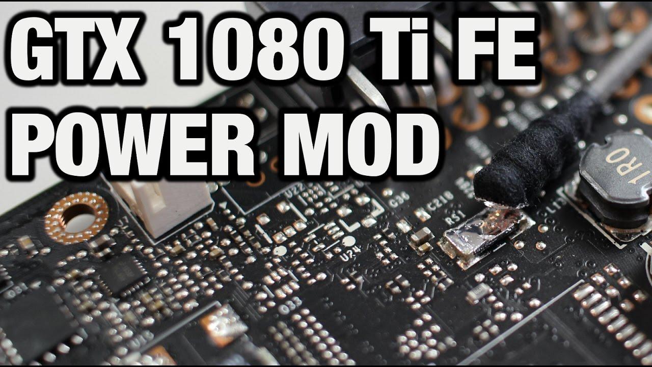 GTX 1080 Ti Founders Edition Power Mod (english)