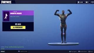 Fortnite new emote smooth moves