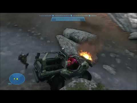 Halo: Reach - Saving The Troop Warthog (REVISITED)