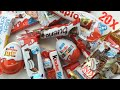 All Ferrero Kinder Candys TEST