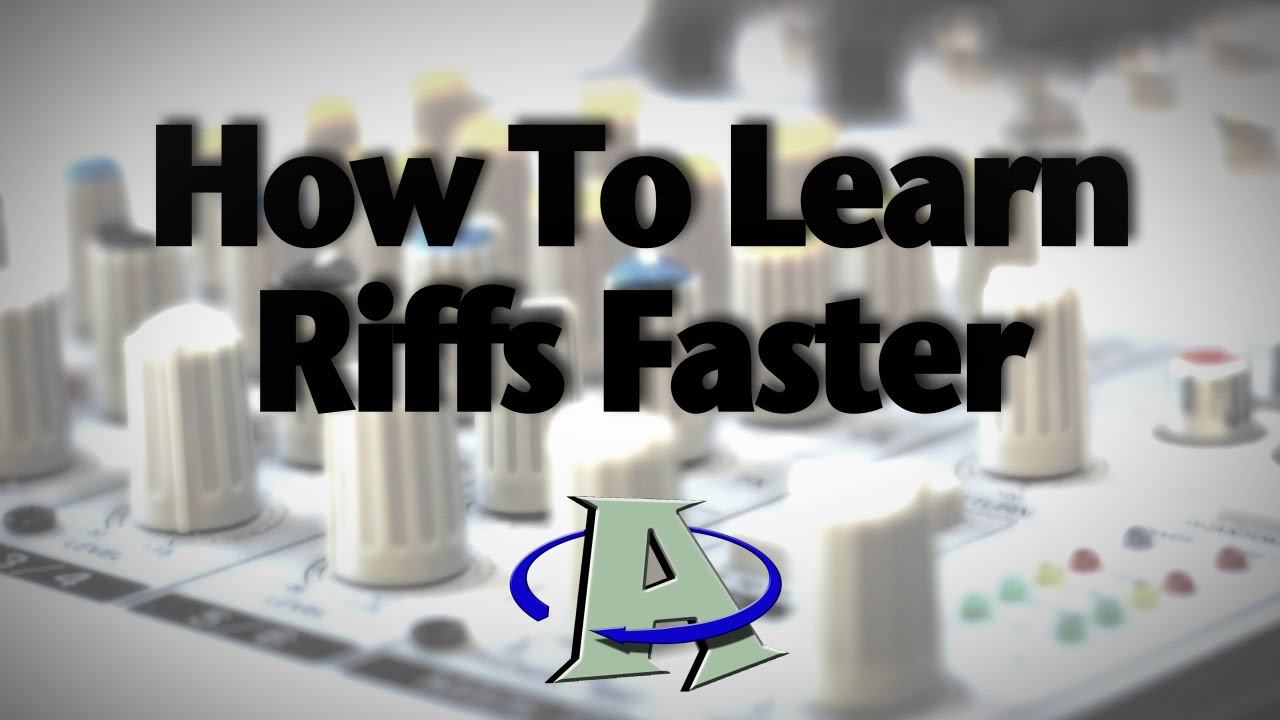 how to learn guitar riffs faster youtube. Black Bedroom Furniture Sets. Home Design Ideas