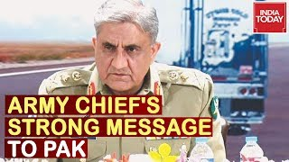 Army Chief's Strong Message On Pakistan Occupied Kashmir, States Troops Are Ready