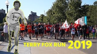 Terry Fox Run 2019 Montreal Ft. Darrell Fox