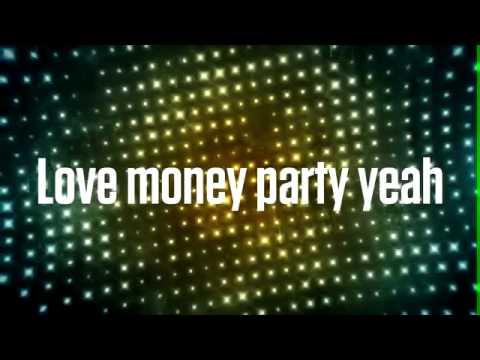 Miley Cyrus -  Love Money Party feat - Big Sean [Official Lyric Video] [Album Bangerz]