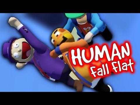 Paluten,Zombey & Maudado können FLIEGEN | Human Fall Flat