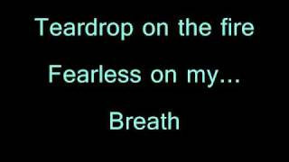 Massive Attack - Teardrop lyrics