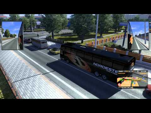 Пассажирский мод для Euro truck simulator 2