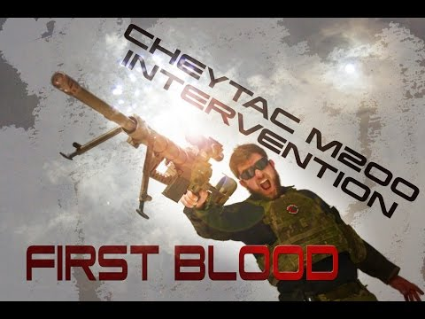 M200 Intervention First Blood Airsoft Sniper