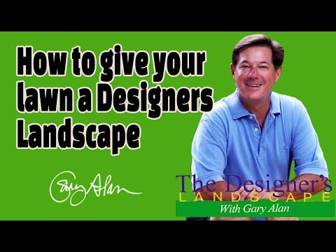 How to Give your Lawn a Designers Landscape Designers Landscape#712