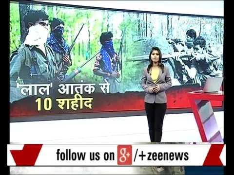 Big Naxalites attack in Gaya, Bihar killing 10 CRPF commandoes and injuring 6