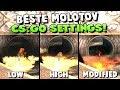 Beste CS:GO SETTINGS für Molotovs + Der Molotov Zombie Server Glitch!