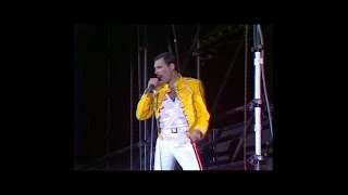 Queen A Kind Of Magic Live At Wembley Stadium Friday 11 July 1986