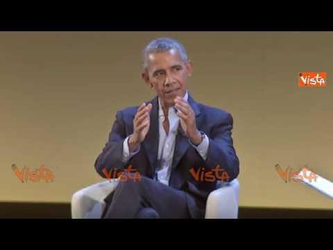 """Obama: """"In democrazia ti becchi il politico che ti meriti"""""""