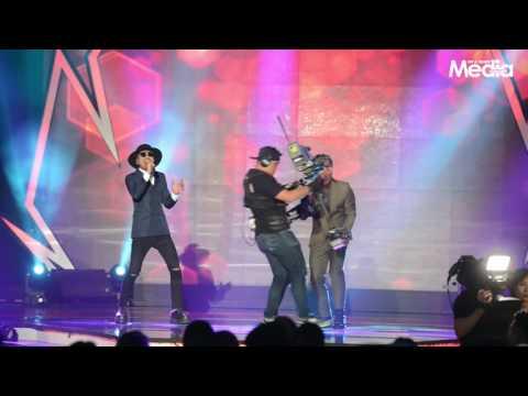 Persembahan Hazama & Lan Typewriter di Anugerah Melodi 2016