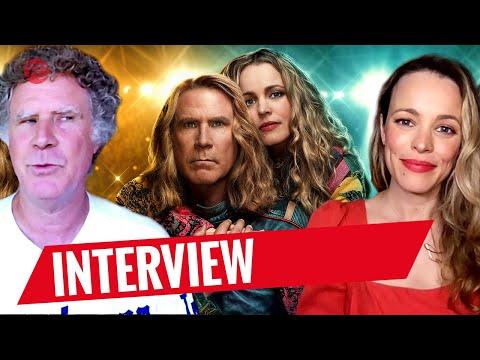 EUROVISION SONG CONTEST: THE STORY OF FIRE SAGA | Will Ferrell & Rachel McAdams Interview