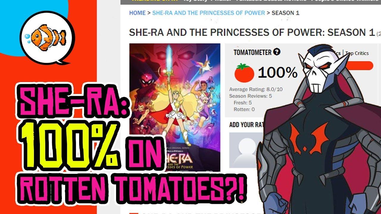 Netflix She Ra 100 On Rotten Tomatoes Hordak Revealed Youtube
