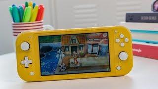 مراجعة لجهاز الألعاب المحمول Nintendo Switch Lite